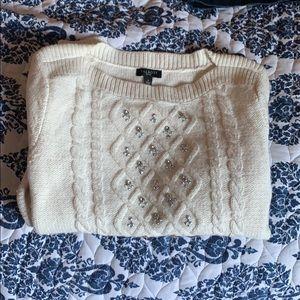 White Talbots Sweater 💝
